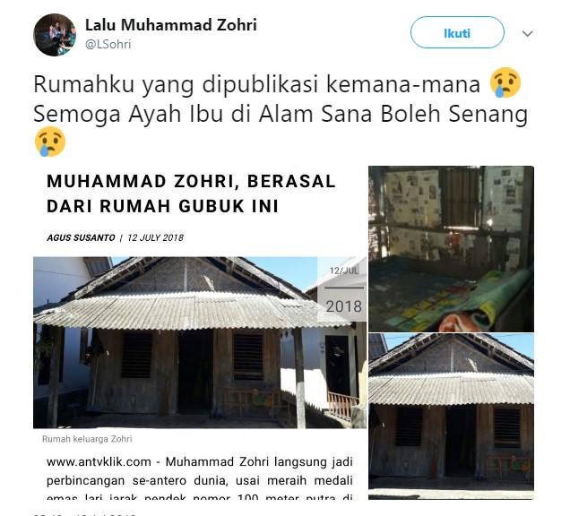 Buat Sejarah Baru Untuk Indonesia, Berikut Beberapa Fakta Tentang Zohri