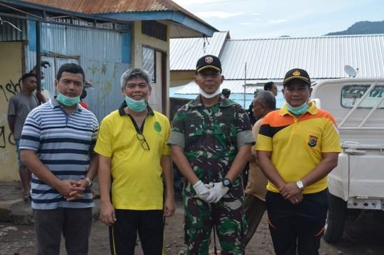 Hari Peduli Sampah Nasional, PN Larantuka, Kodim 1624 Dan Polres Flotim Gelar Aksi Bersih Di Pasar Larantuka