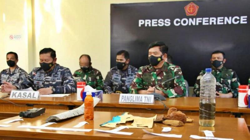 TNI Naikkan Status Pencarian KRI Nanggala Jadi Subsunk