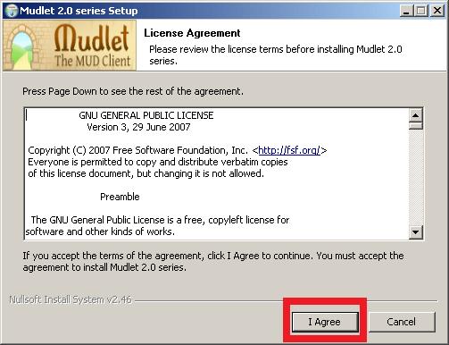 Cómo instalar Mudlet - Paso 4