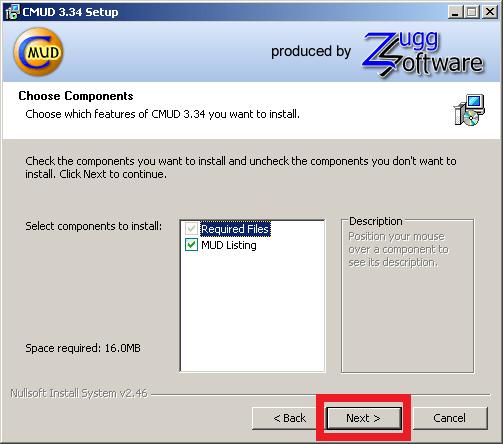 Cómo instalar ZMud o CMud - Paso 7