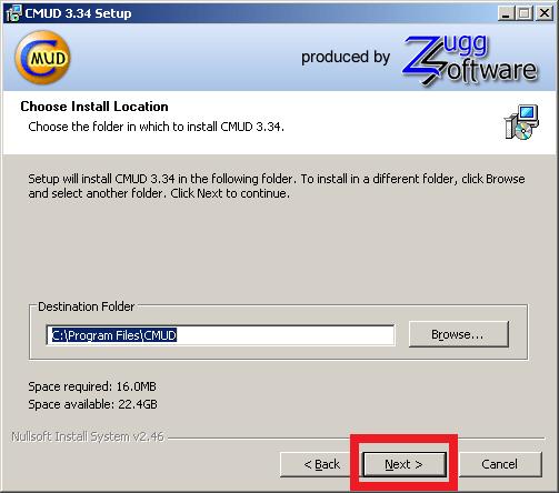 Cómo instalar ZMud o CMud - Paso 8