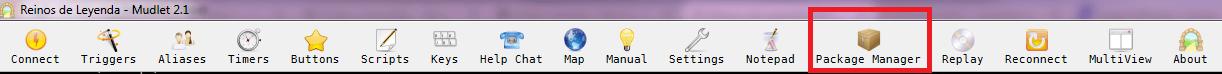 Cómo configurar el mapa en Mudlet - Paso 1