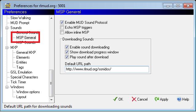 Cóno configurar MSP en Zmud - Paso 3