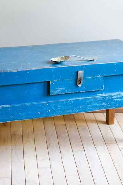 The Blue Wooden Box