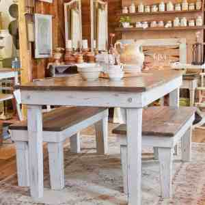 Pallet Wood Farmhouse Table