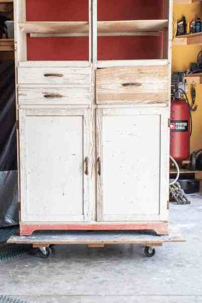 Vintage Kitchen Cupboard Restoration