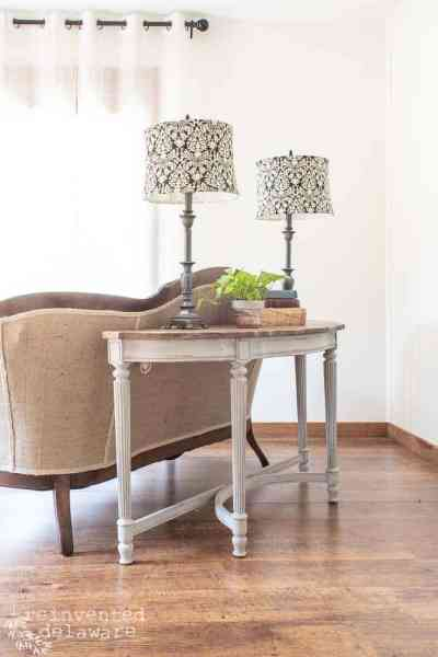 Restyled Sofa Table