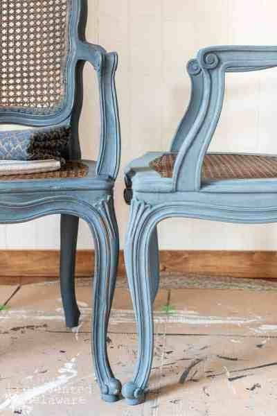 Repairing Furniture   Italian Caned Chairs
