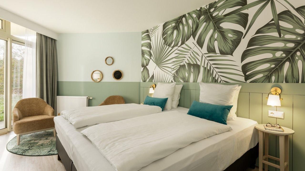 Verblijf in een hotelkamer op Center Parcs Bispinger Heide incl. ontbijt