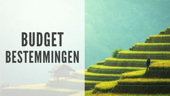 Budgetbestemmingen