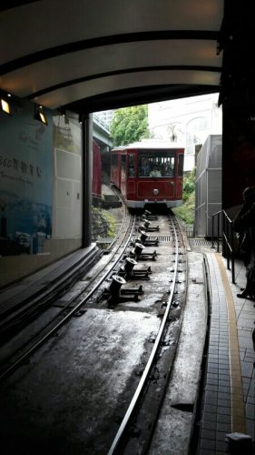 Peak Tram Hong Kong