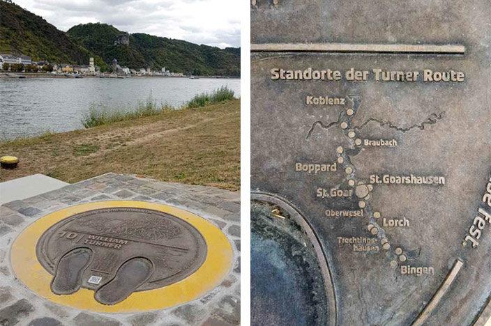 Boven Midden-Rijndal: Nieuw hier is de Turner-route.