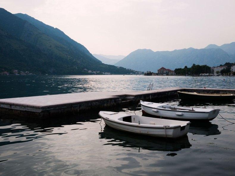 In den Bergen von Kotor