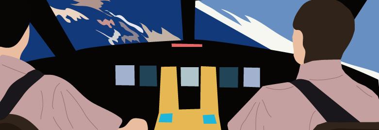 Anruf aus dem Cockpit