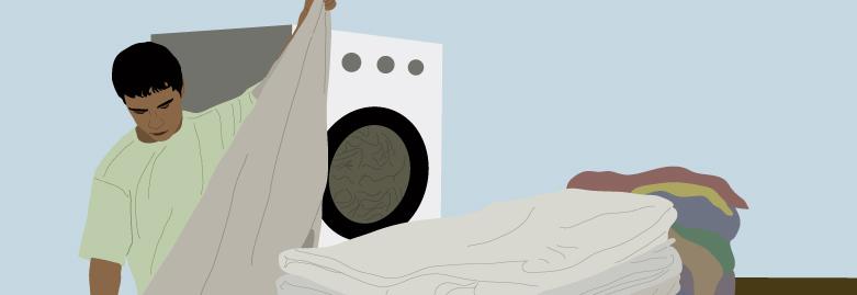 Gelsenspray aus der Wäscherei