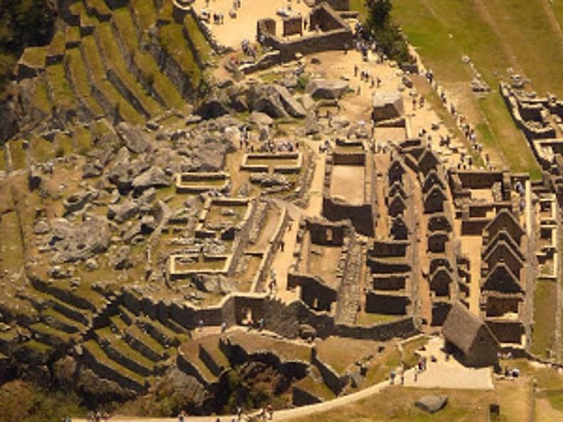 Die heilige Stadt Machu Picchu