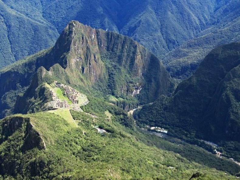 Machu Picchu oder 8670 Treppenstufen
