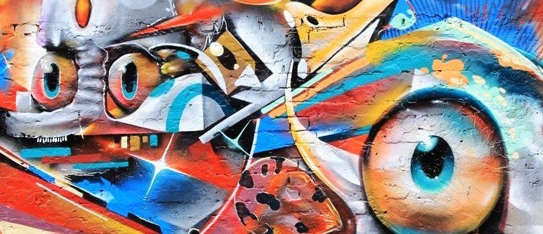 Hauptstadt der Graffiti