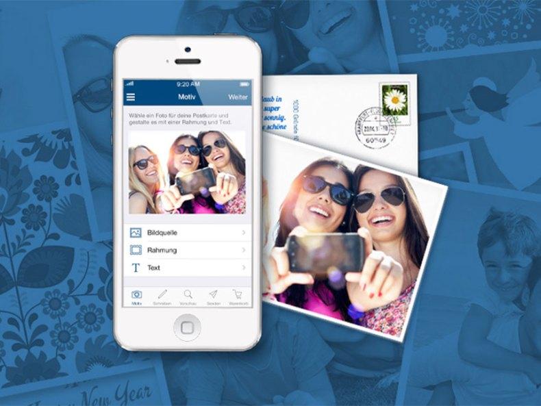 Die Trapoca Postkarten App