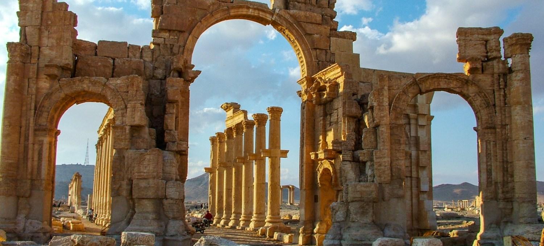 Palmyra Syrien So War Es Vor Den Zerstorungen