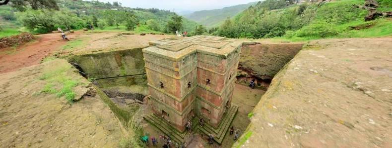 Die Lalibela Felsenkirchen