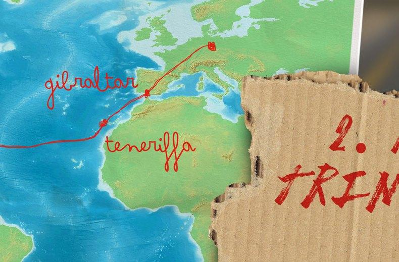 Von Leipzig nach Alaska per Anhalter: Über den Atlantik (2)
