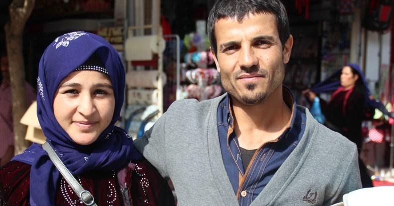 Mit Yusuf und Emina auf dem Basar von Urfa