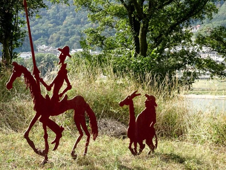 Wandern mit Don Quijote