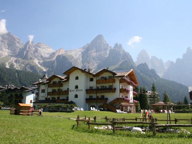 Das Hotel Vienna – Aktivurlaub und Wellness inmitten der Dolomiten