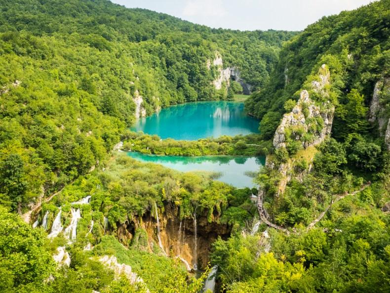 Ein Tag an den Plitvicer Seen