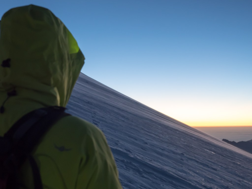 Sonnenaufgang am Elbrus