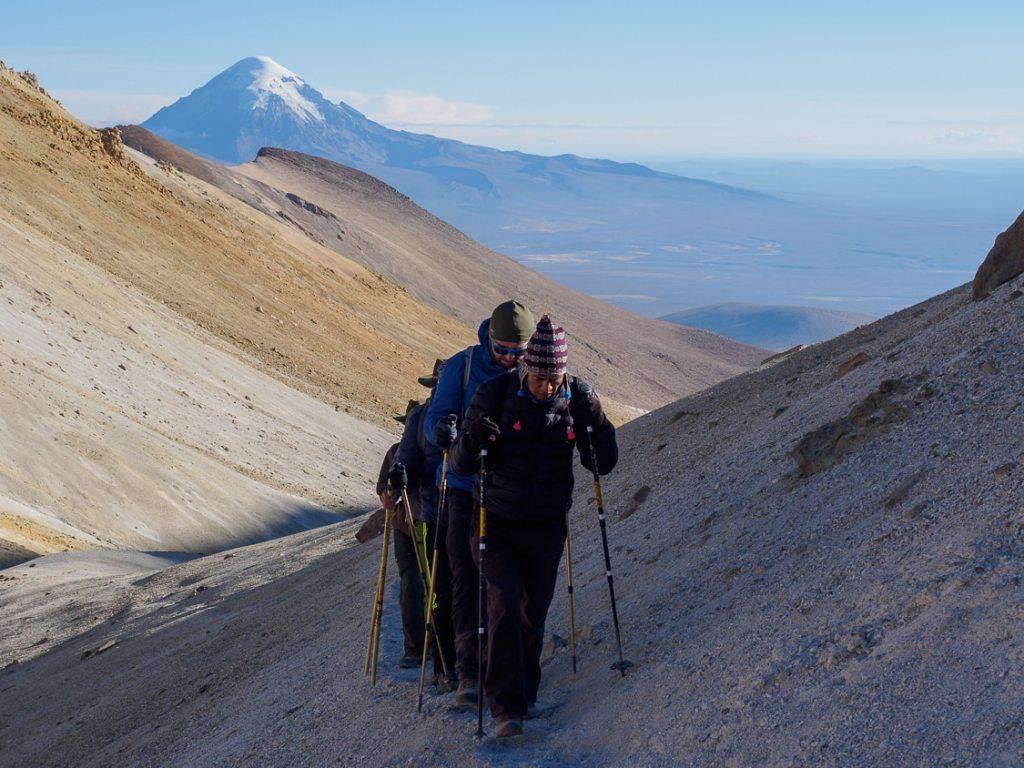 Aufstieg zum Acotango