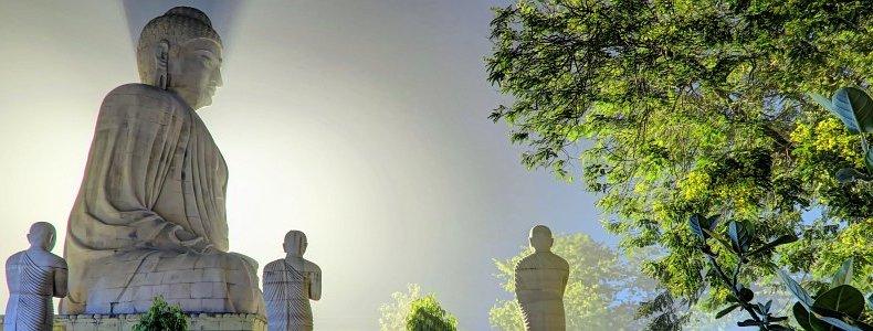 Land des Buddhas