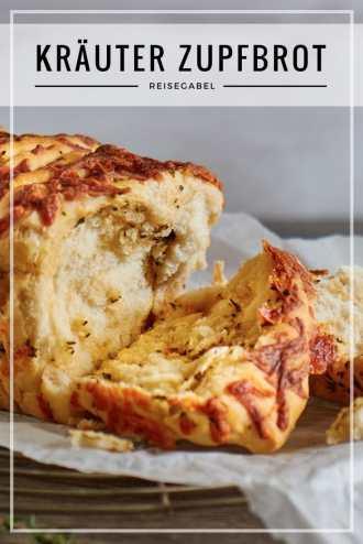 Kräuter Zupfbrot mit Mozzarella