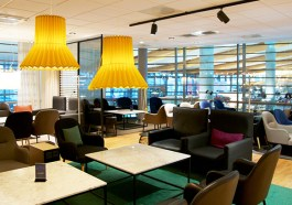 SAS Lounge in Oslo (F: miles around_Bigstock)