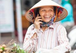 Straßenszene Hanoi (Bigstock / Melis)