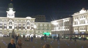 Piazza dell'unità in Triest (B: Prazak)