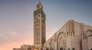 Moschee Hassan II. Marokko ( Bigstock / RuslanKphoto)