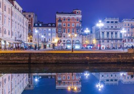 Canale Grande in Triest am Abend (Bigstockphoto.com / RS-photography)