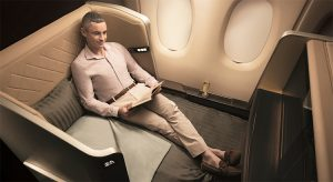 Neue First Class der Singapore Airlines (F: SIA / beigestellt)