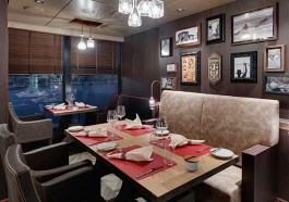Steakhaus Butcher´s Cut der MSC Seaside (F: beigestell)
