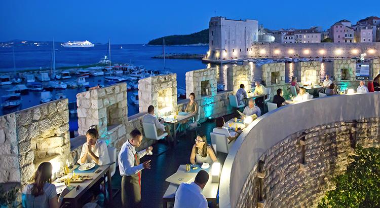 Das Restaurant 360 in Dubrovnik (Foto beigestellt)