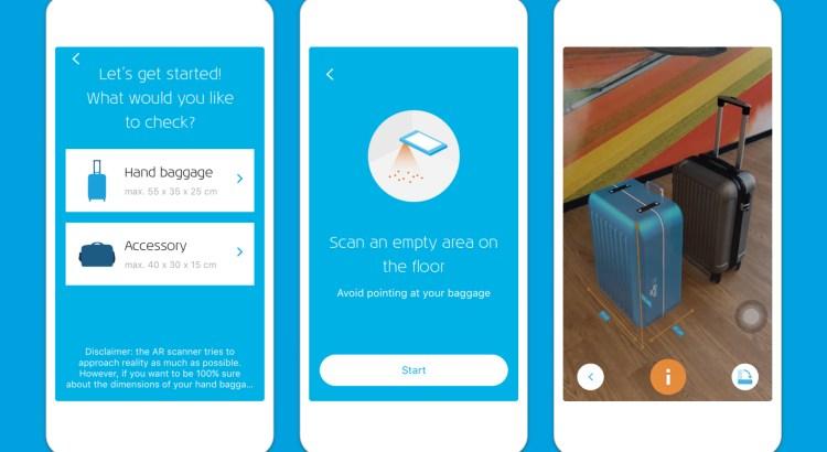 Handgepäck checken KLM App Reisekompass