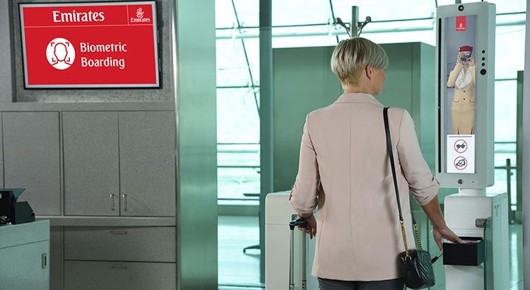 Biometrisches Boarding bei Emirates Reisen Dubai Reisekompass