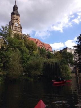 Paddeltour Leipzig Sachsen