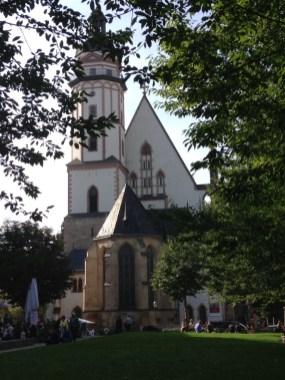 Thomaskirche - bekannt durch den Thomanerchor