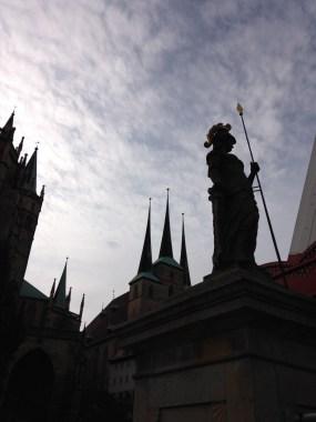 Erfurt in Thüringen, eine tolle Landeshauptstadt Makrtplatz