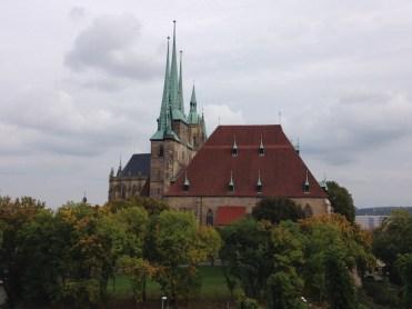 Erfurt in Thüringen, eine tolle Landeshauptstadt Dom