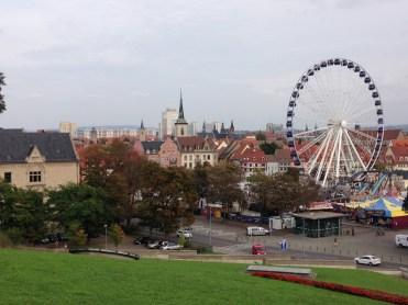 Erfurt in Thüringen, eine tolle Landeshauptstadt Oktoberfest